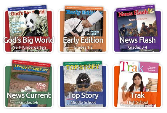 Review of God's World News: a great resource for current events from a Christian perspective