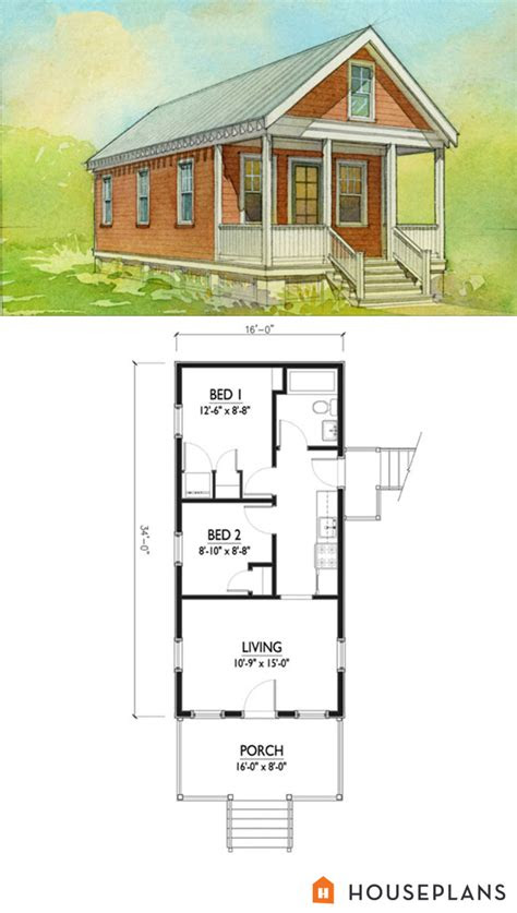cottage style house plan  beds  baths  sqft