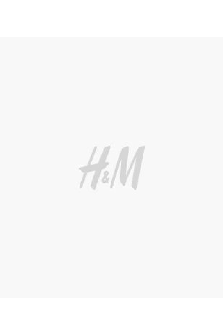 Calções cintura paper bag - Verde oliva - SENHORA | H&M PT 2
