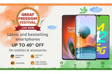 Amazon Great Freedom Festival 2021 Sale Live: Best Offers on Mobiles, Amazon Devices, Electronics