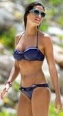 Sara Carbonero Luciendo Sus Nuevas Tetas En Bikini