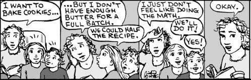 Home Spun comic strip #667