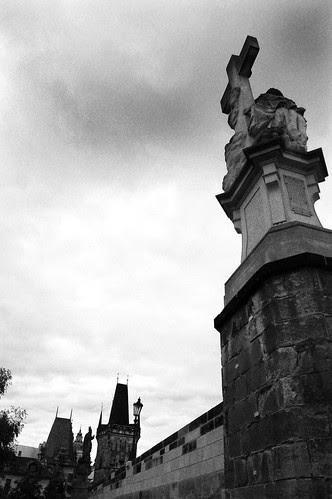 Prague_CharlesBridgeStatue