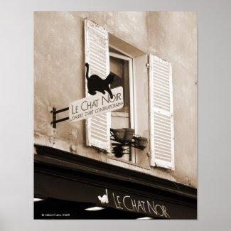 Le Chat Noir Print print