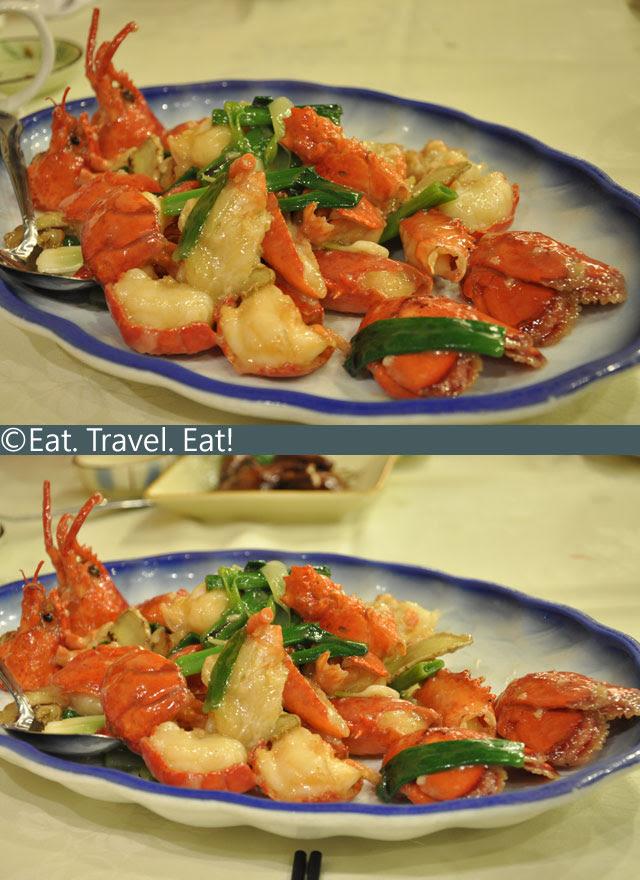 Ginger-Scallion-Lobster