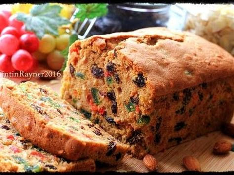 english fruit cake classicrich delicious resep