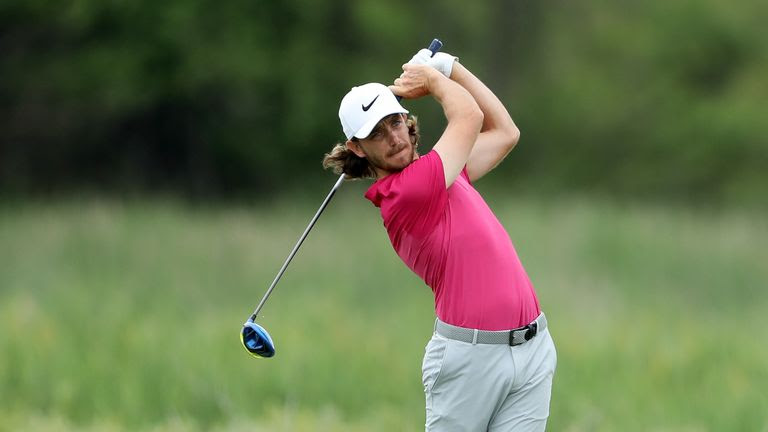 Tommy Fleetwood went close to manding his first major at the US Open