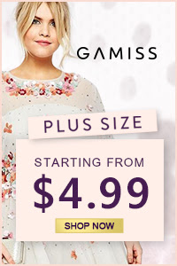 Gamiss Plus Size Sale: Starting From $4.99, Shop Now!