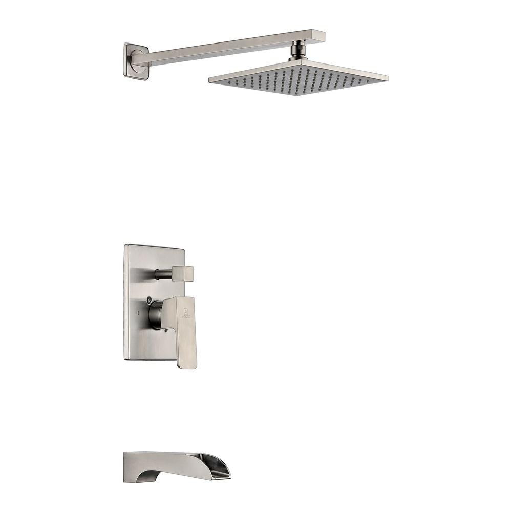 Delta Porter Single Handle 3 Spray Shower Faucet In Brushed Nickel