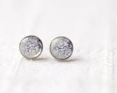 Tiny ear post - Winter trees - Everyday jewelry - Gift for her under 15, 20, 25 (E092)