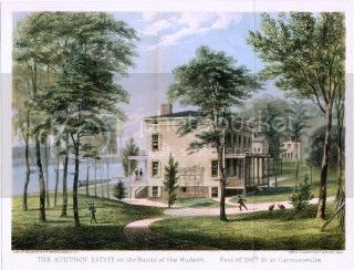 estate where John James and Lucy Audubon lived out their years - for the most part
