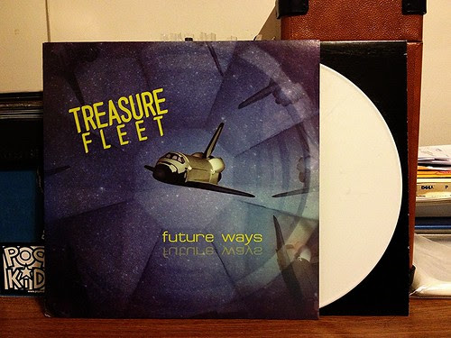 Treasure Fleet - Future Ways LP - White Vinyl (/300) by Tim PopKid