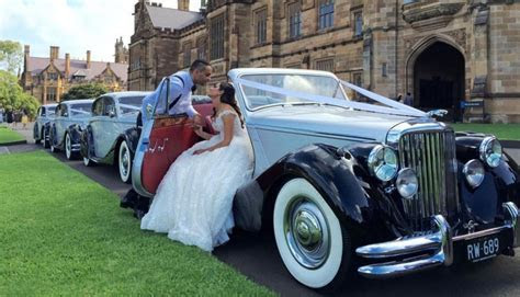 Top 20 most popular Sydney wedding cars   Easy Weddings