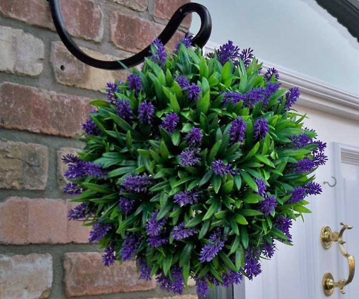 The 10 most beautiful, affordable artificial hanging baskets  The Artificial Flowers Company