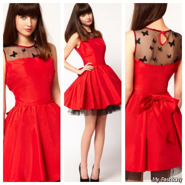 beautiful red dress outfits for valentine's day  anextweb
