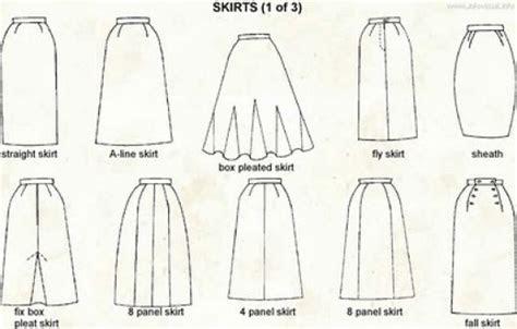 types  skirts styles  women  skirts names
