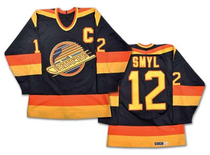 Vancouver Canucks 87-88 jersey