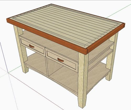 Woodworking Plans Butcher Block Table Online Adirondack Chair