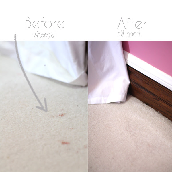 clean carpet before after
