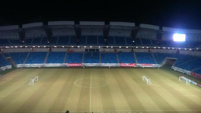 Arena das Dunas TR ABC x América-RN (Foto: Fred Carvalho/GloboEsporte.com)