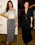Hilary Rhoda & Molly Sims Go Long: Fashion Face-Off! (PHOTOS, POLL)