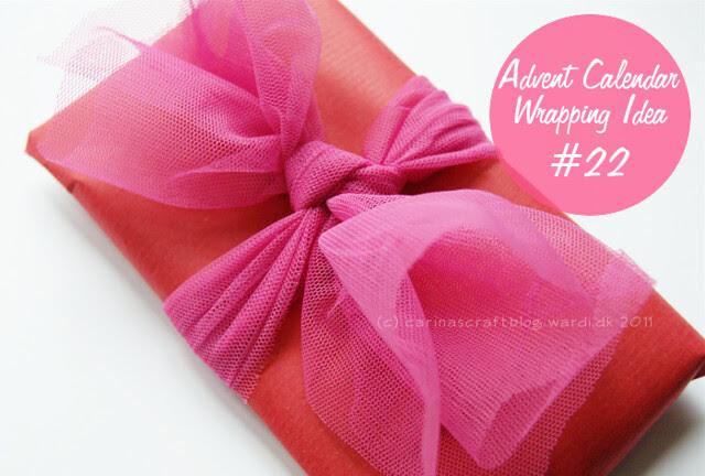 Advent Calendar Wrapping Idea #22