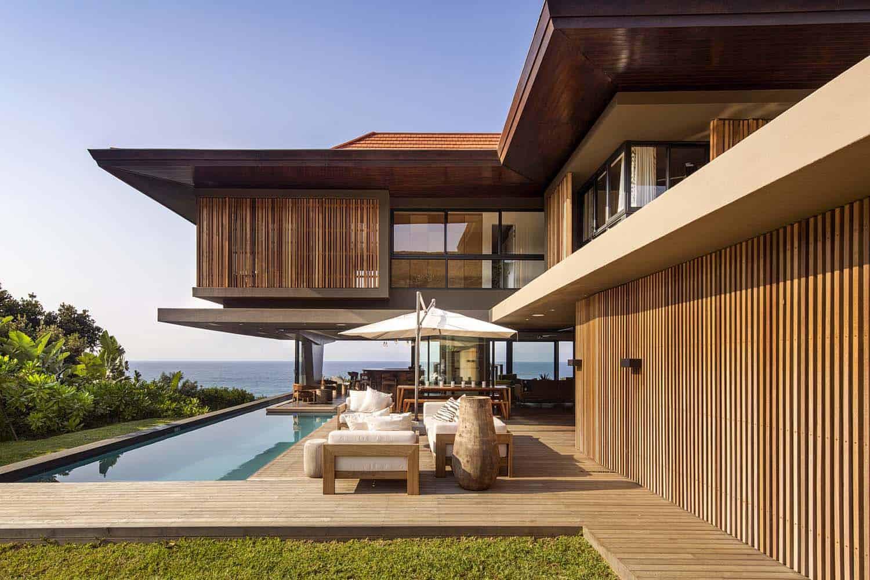 Modern tropical style home nestled along the Dolphin Coast