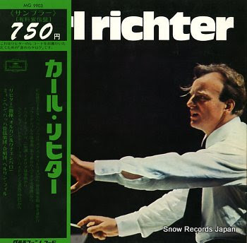 RICHTER, KARL christmas oratorio