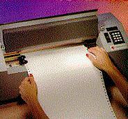 A braille embosser