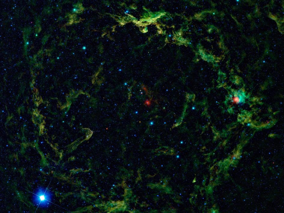 Orion's Big Head Revealed in Infrared