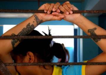Las niñas presas de El Salvador