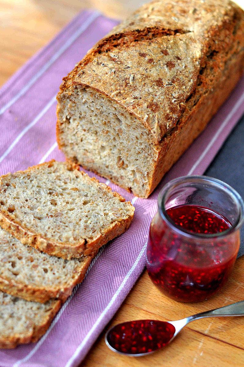 Bread for Breakfast: Easy Multigrain Sourdough - Bread and ...