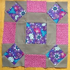 4x5 Modern Quilt Bee Blocks - Winter Round