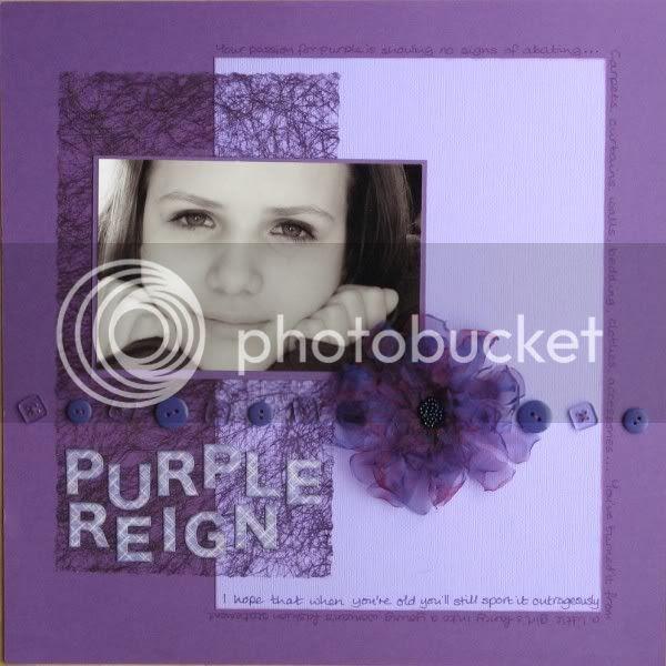 Jimjams - Layout - Purple Reign