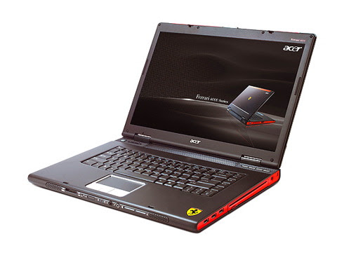 Laptop Ferrari