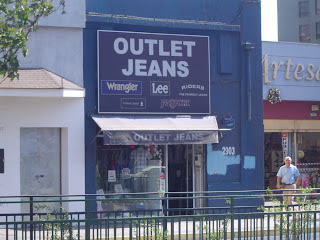 OUTLET JEANS WRANGLER, LEE Y RIDERS