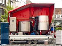 Biofuel base station