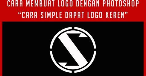 membuat logo brand clothing keren  photoshop