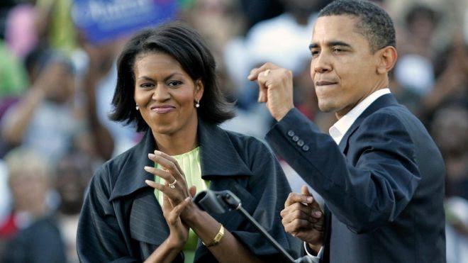Michelle Obama y Barack