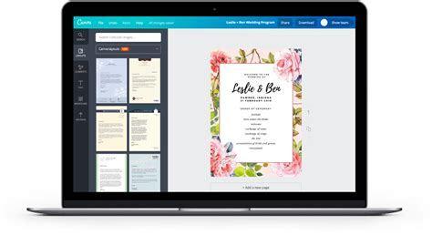 Design a Beautiful Custom Wedding Invitation   Canva