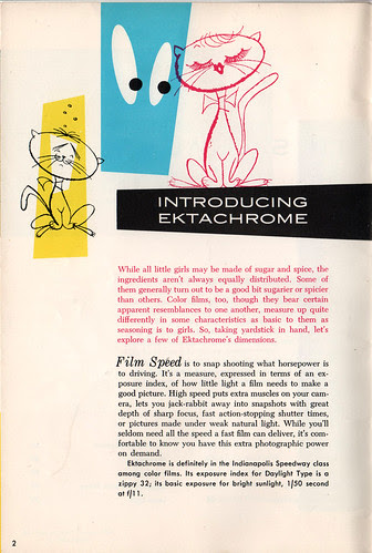 Kodak Ektachrome booklet 2