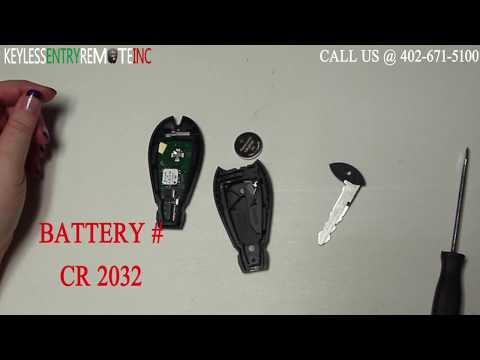 How To Replace A Dodge Durango Key Fob Battery 2017 And Br Programming Instructions