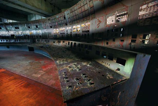 Painel de controle de Chernobyl