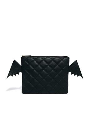 Image 1 ofASOS Bat Clutch Bag