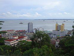 Skyline of Sandakan