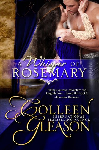 A Whisper of Rosemary (Medieval Romance) (The Medieval Herb Garden Series) by Colleen Gleason