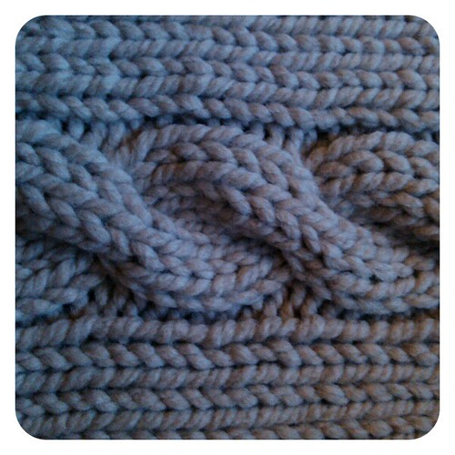 Chunky cables