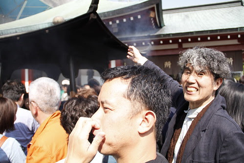 Ming Jin and Professor Ando