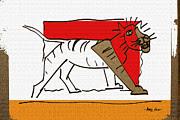 Artist  Singh - Tiger 4 By Artist Singh