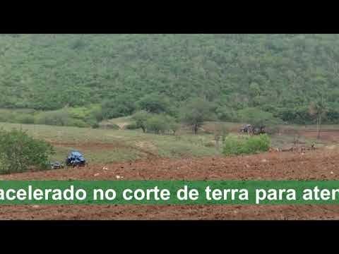 Prefeitura de Araruna trabalha em ritmo acelerado no corte de terra para atender agricultores do município